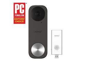 Remo+ RemoBell S Smart Video Doorbell Camera with Wi-Fi Chime
