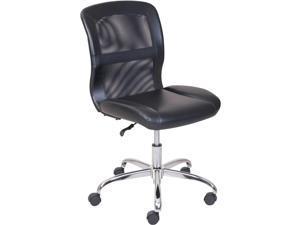 Mainstays MS55-018-039-23 Vinyl And Mesh Task Chair, Black