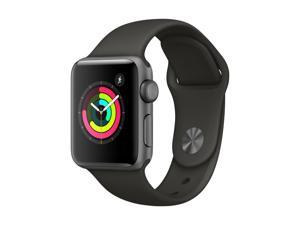 Apple Watch Sport 38mm Series 3 Space Gray Aluminum Case ...