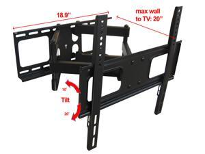 "Impact Mounts DUAL ARM FULL MOTION MOUNT FOR TV SCREEN SIZES 23-55"" (LPA36-446)"