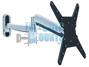 "Impact Mounts Full Motion TV Mount for TV 13-47"" Articulate in out up down gas spring"