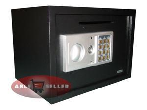 AbleHome ELECTRONIC DIGITAL DEPOSITORY SAFE W/ CASH SLOT DROP OFF RETAIL SECURITY VAULT