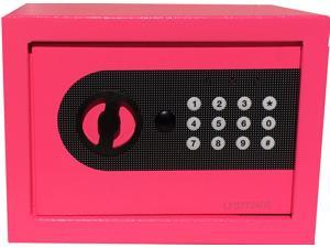 AbleHome DIGITAL ELECTRONIC SAFE BOX WALL JEWELRY GUN CASH PINK
