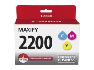 Canon PGI-2200 Ink Cartridge - Combo Pack - Cyan/Magenta/Yellow