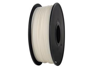 axGear 3D Printer ABS Filament 1.75mm 1KG 2.2LB Premium Material Spool Roll White