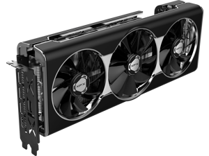 XFX RX 5700 XT Thicc III 8GB GDDR6 3xDP HDMI PCI-Express 4.0 Graphics Card RX-57XT8TFD8 VR Ready, Ultra HD and Multi-Monitor Support