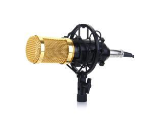 BM-800 Condenser Studio Recording Microphone with Shock ...