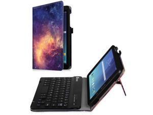Black -pro9.7/_Classic Style ZHEN LI Tablet PC Bluetooth Keyboard Slim Protective Case with Pen Slot