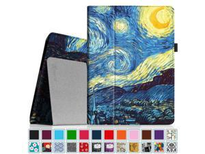 Fintie iPad 2/ iPad 3/ iPad 4 Gen Folio Case - PU Leather Cover with Auto Wake/ Sleep Feature, Starry Night