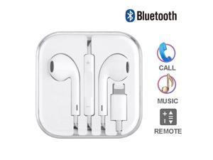 Lightning Earbuds & Headphones, Bluetooth Earphone Stereo Sound + Built-in Microphone + Volume Control for Apple iPhone X,7,7 Plus,iPhone 8,8 Plus Earbuds