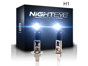 NIGHTEYE H1 LED Bulbs for Fog Light 1600 Lumens High Power SMD Super Extremely Bright 6000K White H1 LED Bulbs for Fog Light Lamps Replacement