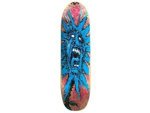 Tracker Screaming Flower Kick Tail Skateboard Deck Canadian Maple ...