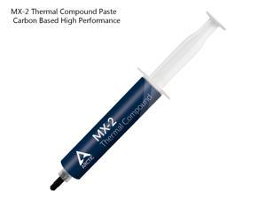 ARCTIC MX-2 Thermal Compound Paste, Carbon Based High Performance, Heatsink Paste, Thermal Compound CPU for All Coolers, Thermal Interface Material - 65 Grams