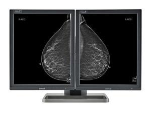 Pair (x2) New Barco® Coronis MDMG-5221 Tomosynthesis 5MP LED Grayscale Digital Mammography Diagnostic Monitor (K9602004)