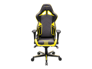 DXRacer Racing Series OH/RV131/NY Newedge Edition Racing Bucket Seat Office Chair Gaming Chair PVC Ergonomic Computer Chair eSports Desk Chair Executive Chair With Pillows