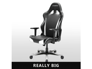 DXRacer Tank Series OH/TS29/N Big and Tall Chair Racing Bucket Seat Office Chair Gaming Chair Ergonomic Computer Chair eSports Desk Chair Executive Chair Furniture With Pillows