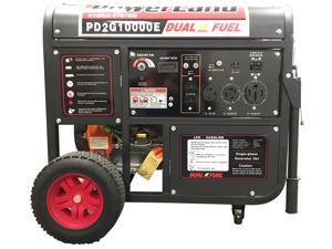 Powerland 10000-Watt 16-HP Portable Hybrid Dual-Fuel Gasoline Propane Generator