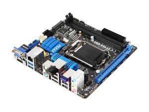 MSI Z77IA-E53 LGA 1155 Intel Z77 HDMI SATA 6Gb/s USB 3.0 Mini ITX Intel Motherboard with UEFI BIOS