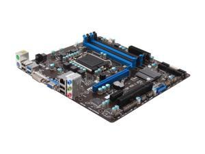 MSI B75MA-P45 LGA 1155 Intel B75 SATA 6Gb/s USB 3.0 Micro ATX Intel Motherboard with UEFI BIOS