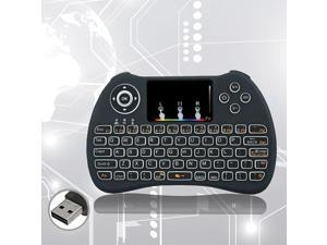 H9 Wireless 2.4GHz Mini Keyboard With Touchpad Air Mouse For Loptop PC ...