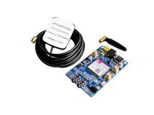 SIM808 Module GSM GPRS GPS Development Board IPX SMA with GPS Antenna for Arduino Raspberry Pi Support 2G 3G 4G SIM Card
