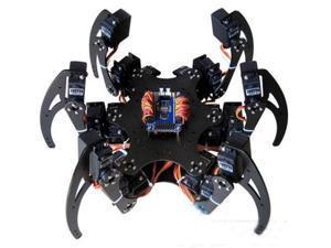 1Set Six 3DOF Legs Alum Alloy Hexapod Spider Robot Frame Kit DIY for Arduino