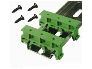 50 Sets Simple PCB Circuit Board Mounting Bracket for Mounting DIN Rail Mounting