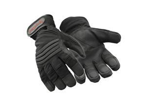 RefrigiWear Waterproof Insulated Lined Arctic Fit Gloves with Impact  Protection (Black ... c5a63d6042e