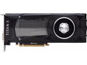 NVIDIA GeForce Titan X (Pascal) 12GB 384-Bit GDDR5X PCI Express 3.0 HDCP Ready SLI Support Video Card - OEM