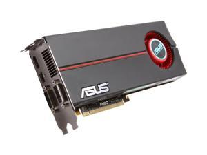 ASUS EAH5870/G/2DIS/1GD5/A Radeon HD 5870 (Cypress XT) 1GB 256-bit GDDR5 PCI Express 2.0 x16 HDCP Ready CrossFire Supported Video Card w/ ATI Eyefinity