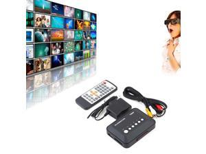 1080P HD USB HDMI Multi TV Media Videos Player Box TV videos MMC RMVB MP3