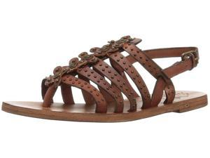 aa22c6b07aa Patricia Nash Womens Erba Leather Open Toe Casual Strappy Sandals