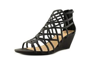 cdd2cc706ea Material Girl Womens Henie Open Toe Casual Strappy Sandals