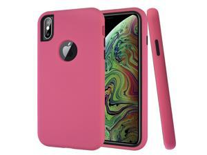 iPhone XS Max Case,Mignova 3 in 1 Hybrid Full Body Protection Case Ultra Thin