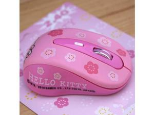 11f375ef6 Wireless Mause Hello Kitty Computer Mouse 2.4GHz 1600DPI Wireless Optical  PC Gaming Mouse Mice Pink