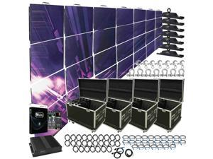 American DJ AV3 High Resolution 3.91mm LED Video Wall 7x4 Complete System