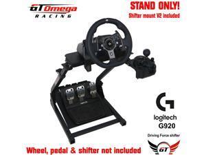 GT Omega Steering Wheel stand For Logitech G920 Racing wheel & shifter PRO V2
