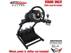 GT Omega Steering Wheel stand PRO for Thrustmaster TX Racing & TH8A shifter V2