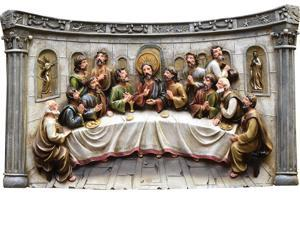 "20"" The Last Supper Inspirational Religious Christmas Wall Decoration"