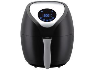 Emerald Air Fryer w/ Digital LED Touch Display 1400 Watts with Slide out Basket & Pan - 4.0L Capacity (1812)