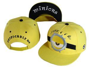 ESTONE Student Teen Adult Baseball Caps Cartoon Character Design Minions  Boys Girls Snapback Caps Adjustable kid 507cb4be9075