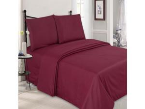 Embossed Checkered Microfiber Sheet Set - King