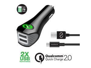 Naztech N420 Qualcom Quick Charge 2.4A Car ...