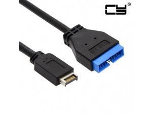 Chenyang USB 3.1 Front Panel Header to USB 3.0 20Pin Header Extension Cable 20cm for ASUS Motherboard