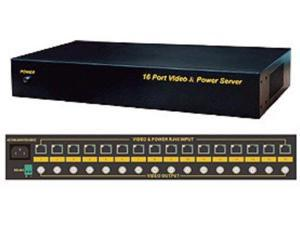 16CH Video UTP Transceiver with Power