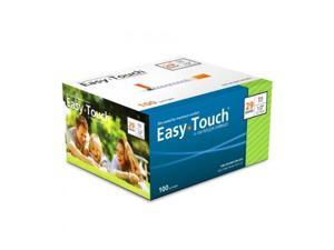 MHC EasyTouch Insulin Syringe 29G 1cc (1mL) 12.7mm (1/2in) (100 Count)