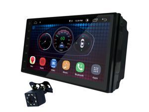 UGAR 7 inch Universal Android 6.0 Full Touch Screen Headunit + Free Offline GPS Map + Free Backup Camera + Wifi + GPS + Bluetooth + AM/FM + MP3/4/5 + USB port + Aux Input + Subwoofer Output