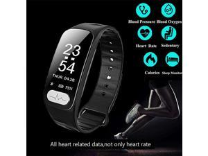 ECG+PPG Smart Watch Wristband Band Bracelet Heart Rate Monitor Fitness Tracker