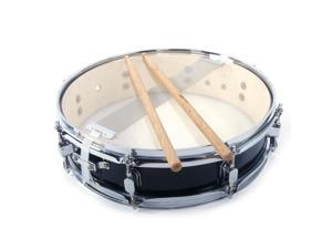 "New Piccolo Acoustic Single Drums Snare Drum 13"" x 3.5"" Percussion Black"