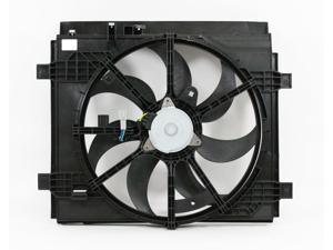 Engine Cooling Fan For 3861550WH01 16-18 Honda HR-V Left-Hand